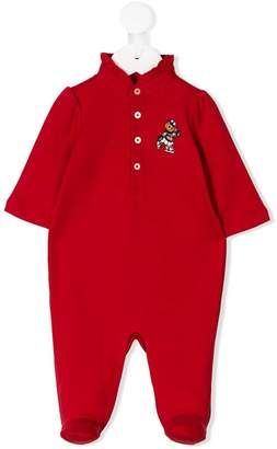 Ralph Lauren Kids Polo Bear babygrow