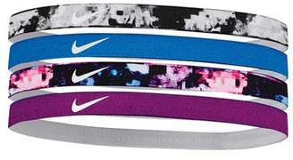 Nike Girl's Assorted Headbands (4 Pack)