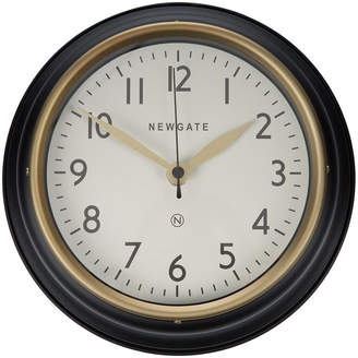 Newgate Clocks - The Mini Cookhouse II Wall Clock - Matt Black