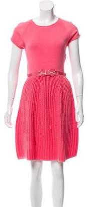 Paule Ka Matelassé Mini Dress