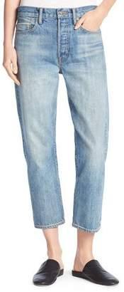 Vince Union Slouchy Denim Jeans, Mid Wash $275 thestylecure.com