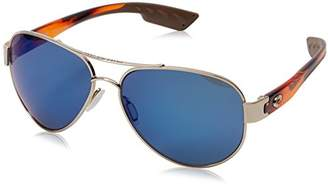 Costa del Mar South Point Polarized Iridium Aviator Sunglasses