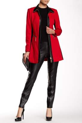 Insight Faux Leather Ponte Pants
