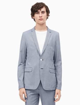 Calvin Klein slim fit infinite seersucker suit jacket