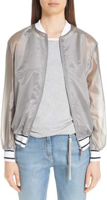 Fabiana Filippi Sheer Track Jacket