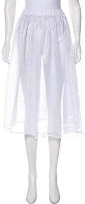 Jacquemus Mesh Midi Skirt