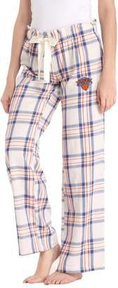 Women's New York Knicks Flannel Pajama Pants
