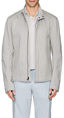 James Perse Men's Cotton-Blend Jersey Biker Jacket