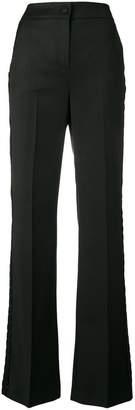 Blumarine ruffle-trimmed trousers