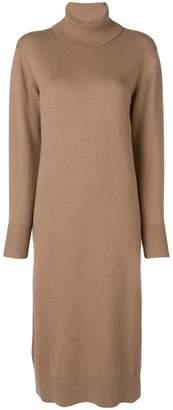 Joseph roll neck sweater dress