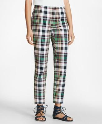 Brooks Brothers Madras Cotton Pants