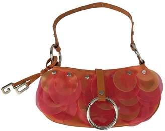 Dolce & Gabbana Vintage Orange Cloth Handbag