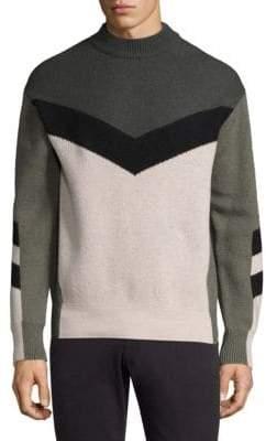 J. Lindeberg Arrow Intersia Sweatshirt