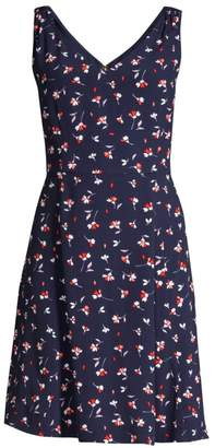 Draper James Floral Sleeveless Dress