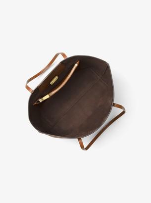 Michael Kors Bancroft Pebbled Calf Leather Tote