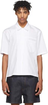 Maison Margiela White Bowling Shirt
