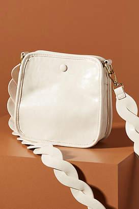 Anthropologie Bette Vegan Leather Crossbody Bag