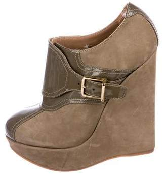 DSQUARED2 Suede Platform Booties