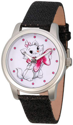 Disney Princess & The Frog Womens Black Strap Watch-Wds000349
