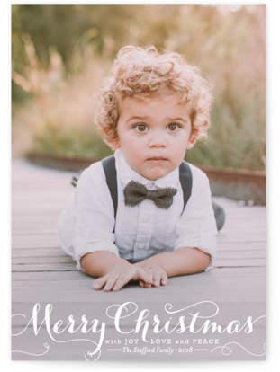 Spirit of Christmas Christmas Photo Cards