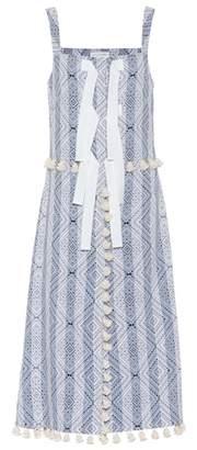 Altuzarra Villette jacquard tassel dress