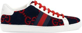 Gucci Women's Ace GG terry cloth sneaker