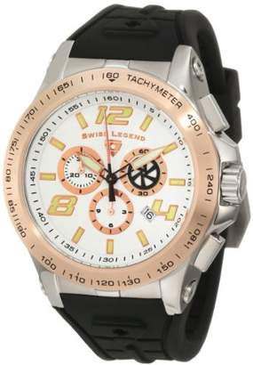 Swiss Legend Men's 10040-02S-RB Sprint Racer Chronograph Dial Watch