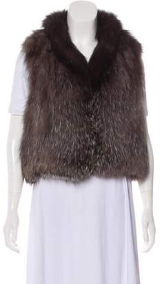 Yves Salomon Fox Fur Vest