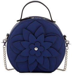 Christian Siriano Selma Mini Round Hatbox Crossbody Bag