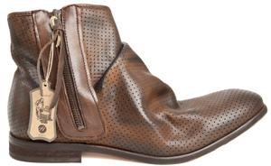 H by Hudson Freddie Calf Boot in Tan