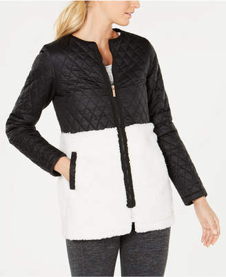 Calvin Klein Quilted Fleece Jacket