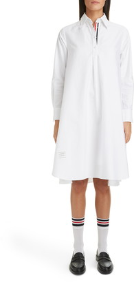 Thom Browne Collage Circle Shirtdress