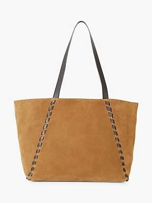 Gerard Darel Leather Simple Road Tote Bag