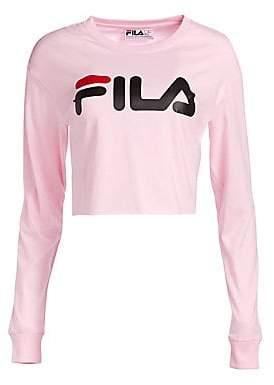 Fila Women's Cropped Logo Tee
