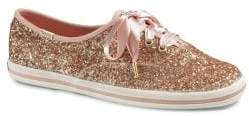 Keds x Kate Spade New York Bridal Canvas Lace-Up Sneakers