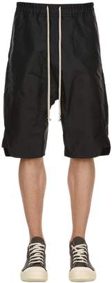 Rick Owens Tech Blend Canvas Shorts
