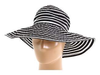 San Diego Hat Company Ribbon Braid Hat Large Brim Stripe