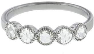 Couture Sethi Five Rose Cut Diamond Ring - White Gold