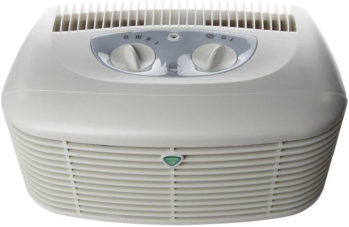 Vicks Tabletop HEPA Air Purifier - White