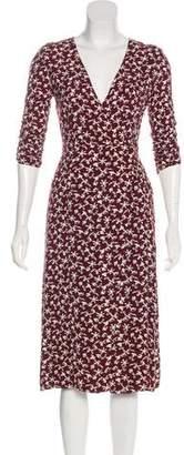 BA&SH Printed Midi Dress