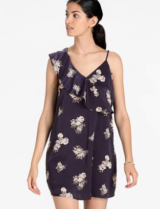 Lucky Brand ASYMMETRICAL FLORAL DRESS