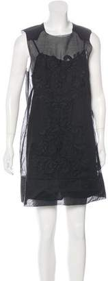 By Malene Birger Embroidered Shift Dress