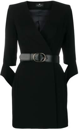 Elisabetta Franchi belted waist dress