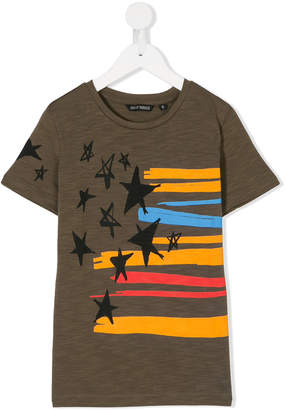 Antony Morato Junior stars and stripes print T-shirt
