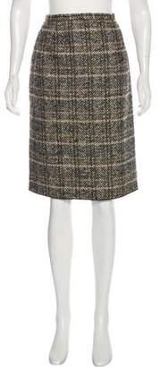 Dolce & Gabbana Knee-Length Wool Skirt