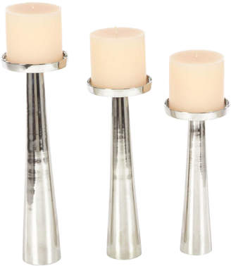 Uma Enterprises Candle Holder Set Of 3