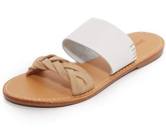Soludos Braided Slide Sandals $89 thestylecure.com