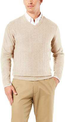 Dockers Men's Classic-Fit V-Neck Sweater