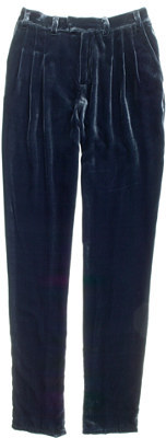 Velvet City Block Trousers