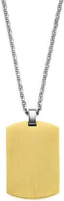 GTX Gold Stainless Steel Dog Tag, 22""